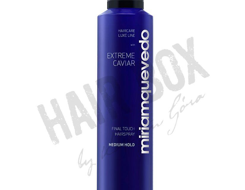 Miriam Quevedo Extreme Caviar Lakier do włosów średnie utrwalenie