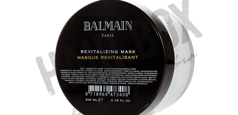 balmain hair couture maska