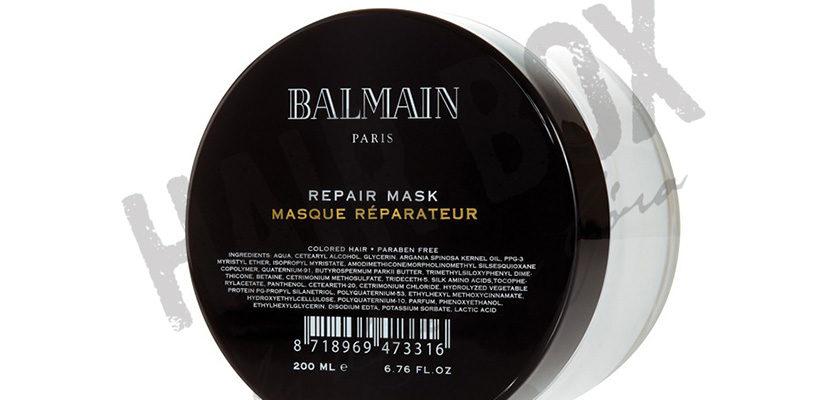 balmain hair couture mask maska
