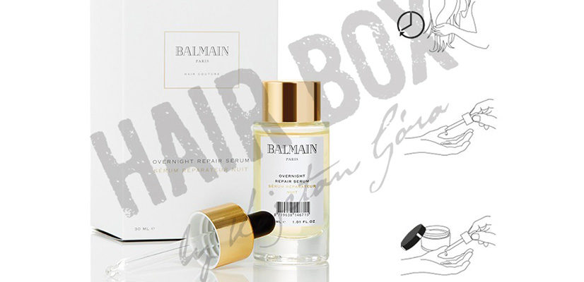 balmain hair couture serum